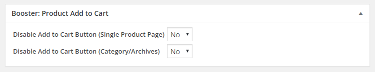WooCommerce Product Add to Cart - Admin Product Edit Settings - Add to Cart Button