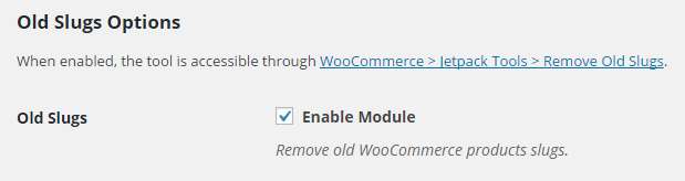 WooCommerce Remove Old Products Slugs