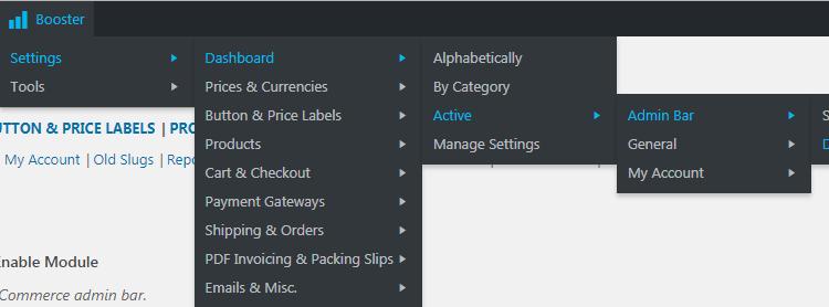 WooCommerce Admin Bar - Booster for WooCommerce Admin Bar Addition